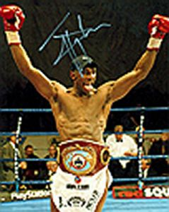 Johnny Nelson, Boxing, Genuine Signed Autograph (03)